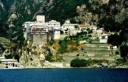 griechenland kloster athos