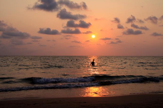 Koh Chang Sonnenuntergang