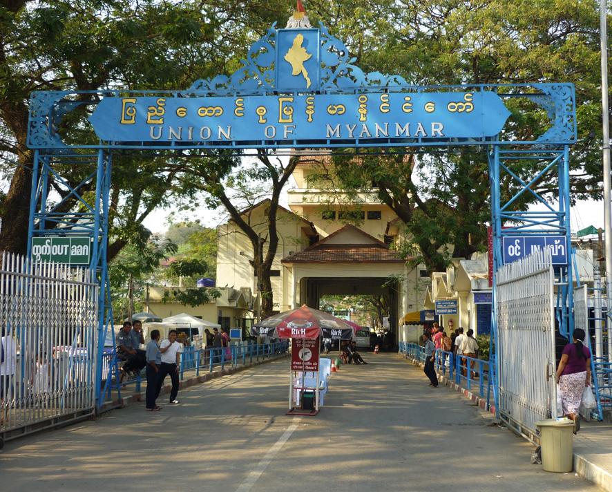 Mae San Grenze zu Birma