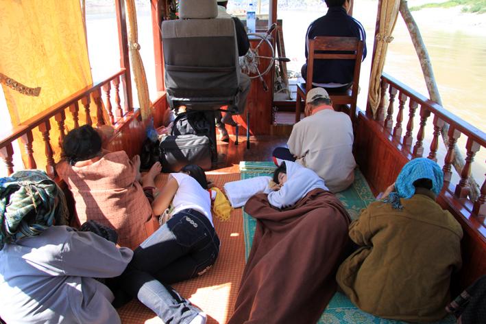 Mekong Bootsfahrt
