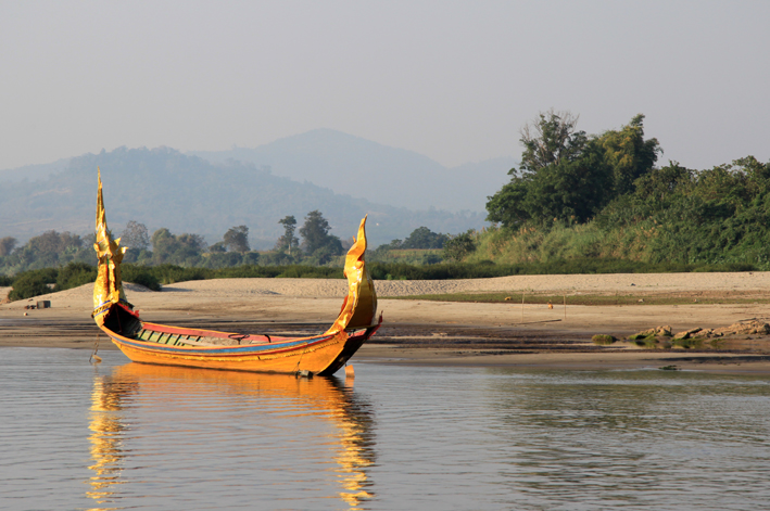 Mekong goldenes Boot