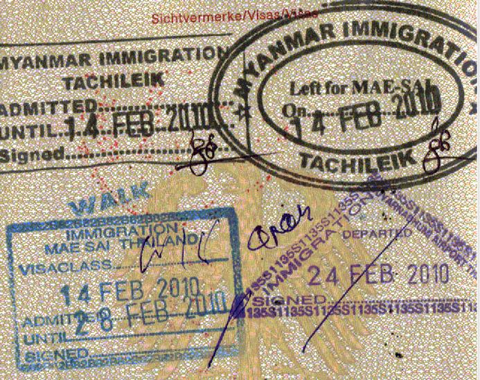 Visa run