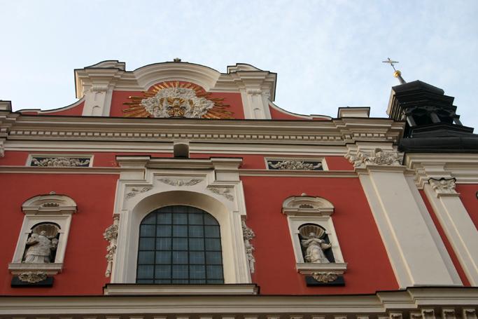 Die Stadtpfarrkirche geht auf die Jesuiten zurück.