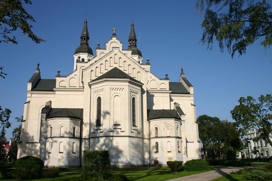 Im Zentrum von Augustów.