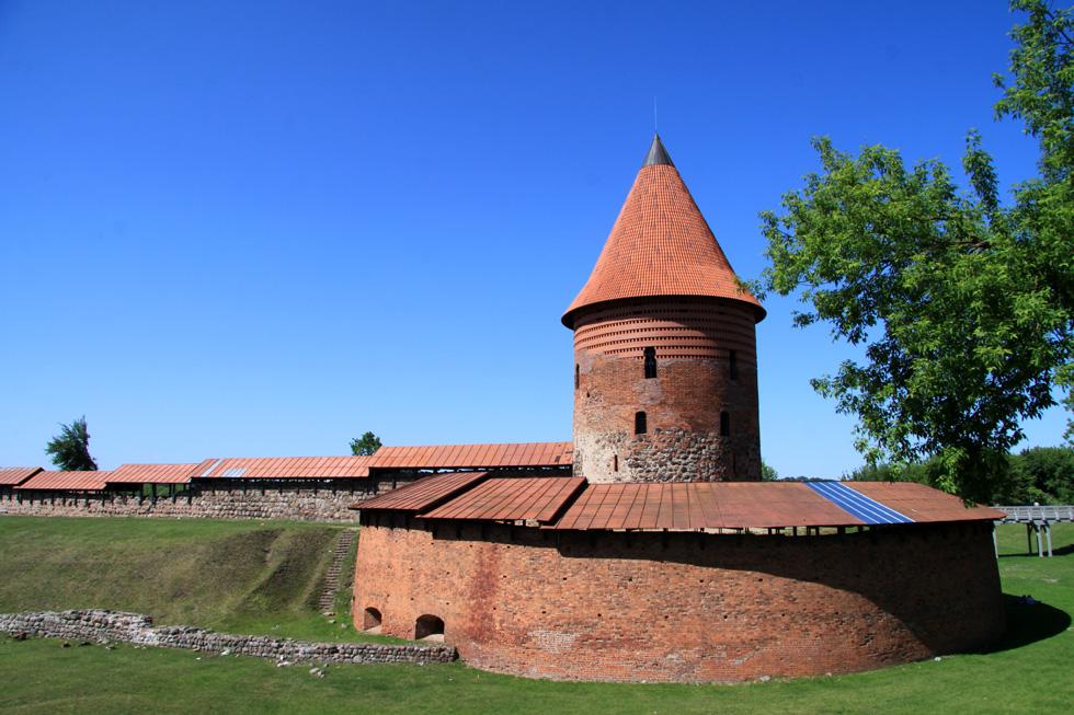 Der Burg in Kaunas sollte man seine Aufwartung machen!
