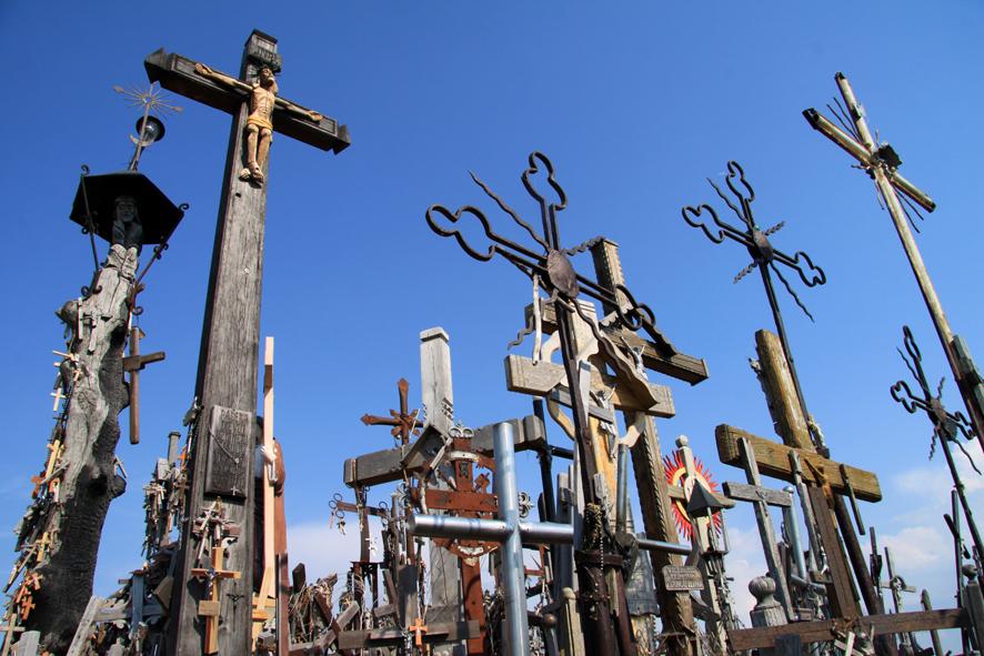 Berg der Kreuze bei Siauliai.