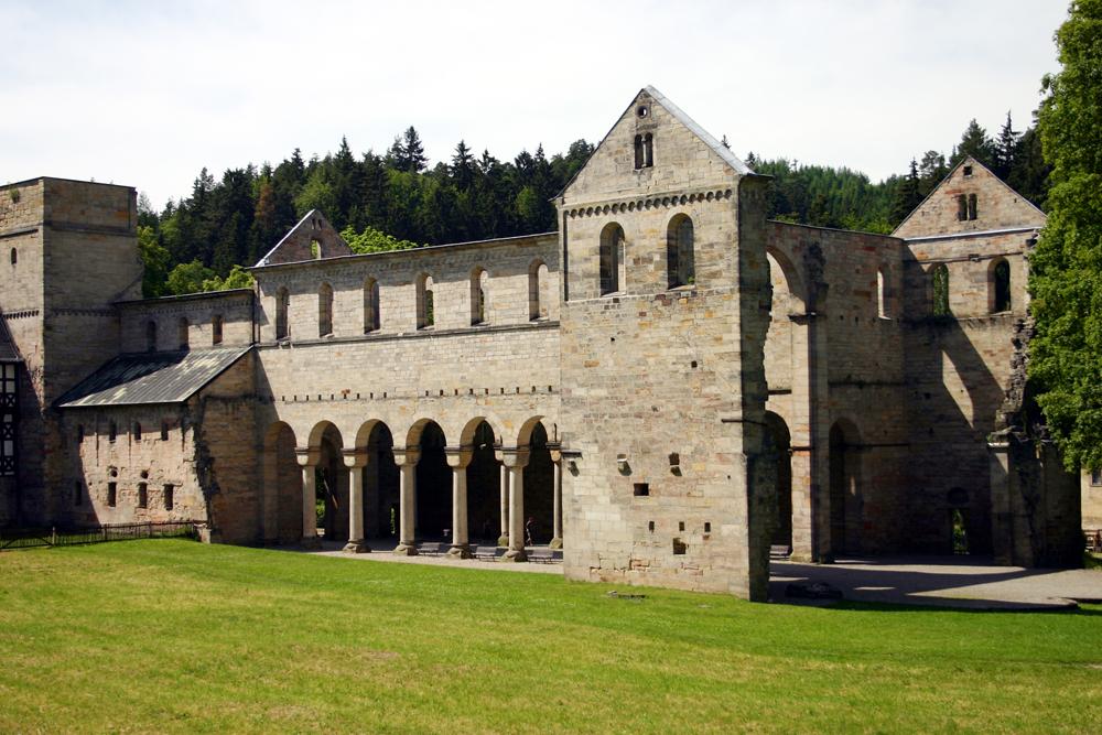 Vom 23. - 25. August 2013 findet das 9. Kulturfestival  Klosterruine Paulinzella statt.