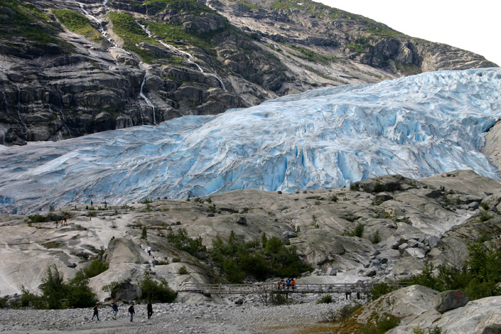 Nigardsbreen is one of the most accessible and best known arms of the Jostedalsbreen glacier. Nigardsbreen is located near the municipality of Luster.