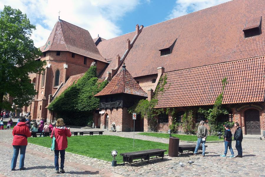 Marienburg Innenhof