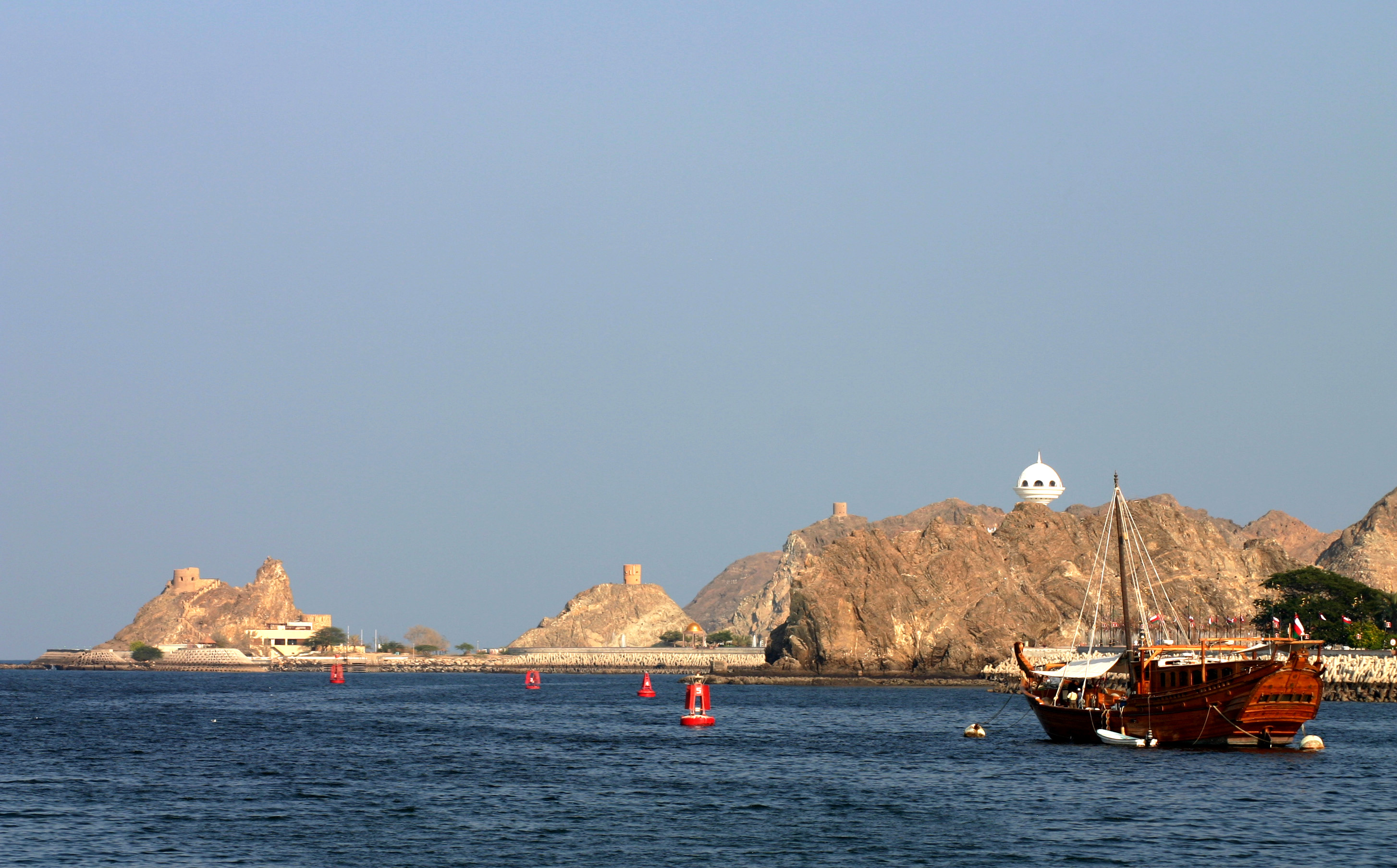 Eines unserer  meistverkauften Motive: Muttrah (Oman).