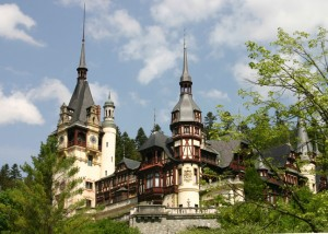 The Peles Castle near Sinaia (Prahova County)  is one of the most exceptional tourist attractions in Romania. It´s a must-see of heritage and beautiful  architecture.