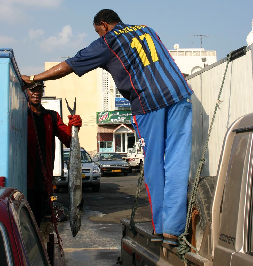 Fischmarkt Oman 2