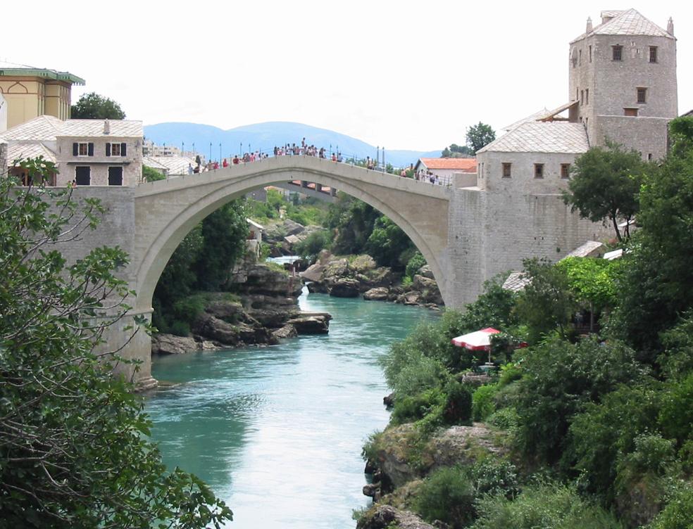 4.Mostar (Bosnien-Herzegowina)