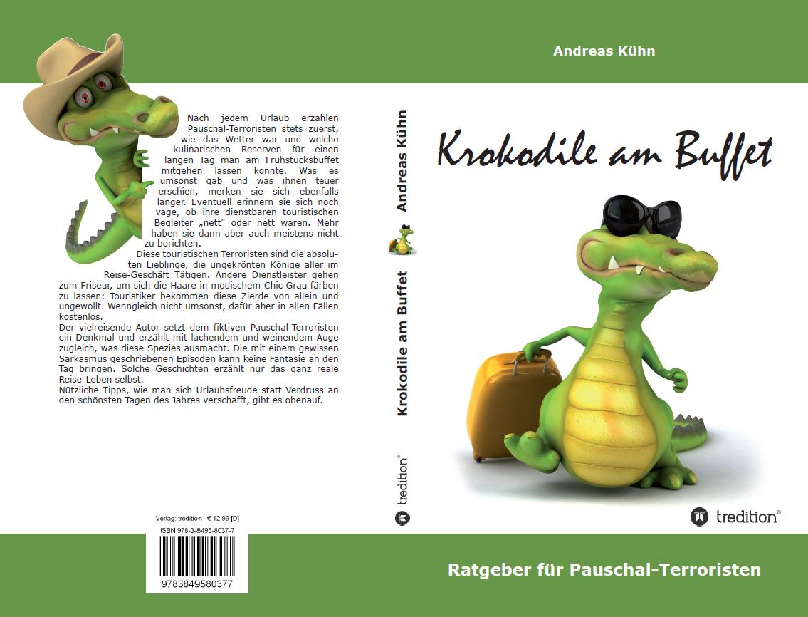 """Buch der Woche: """"Krokodile am Buffet - Ratgeber für Pauschal-Terroristen"""" (eBook)"""