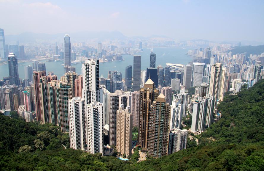 """Wo Auswanderer am zufriedensten sind: """"Frankfurter Rundschau"""" Arbeit, Freizeit, Partnerschaft, Familie: Auswanderer haben in einer großen Umfrage Angaben zu ihrer Lebenssituation im Ausland gemacht. Die Top Ten, wo die Befragten am glücklichsten sind. Foto: Hongkong (Platz 10)"""