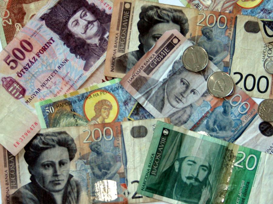 Bei Reisen durch mehrere Länder kann man mit dem Bargeld schon mal durcheinander kommen. Nicht nur auf dem Balkan.