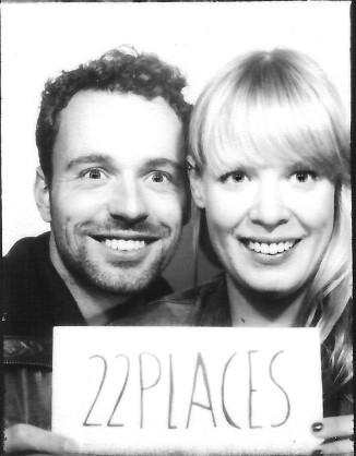 22places - das sind die Berliner Jenny & Sebastian