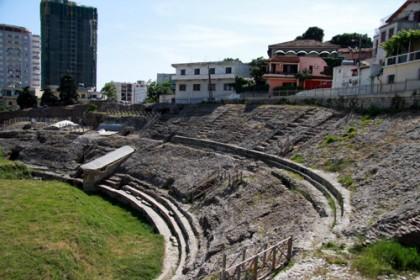 Amphitheater in Durres - Albanien