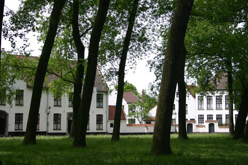 Ich liebe die Stille im Beginenhof (Begijnhof), den man über den Kanal  an der Wijngaardplein (südlich des Stadtzentrums) erreicht. Die historische Wohnanlage wurde einstmals von christlichen Frauen, den sogenannten Beginen genutzt. Sie lebten dort ihr andächtiges Leben, ohne dass sie dazu ein Klostergelübde ablegen mussten.