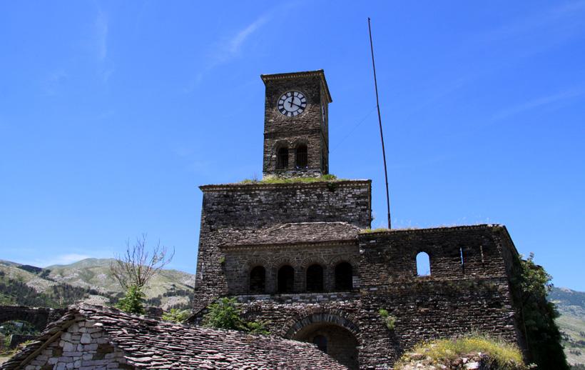 Burg in Gjirokastra  - Albanien