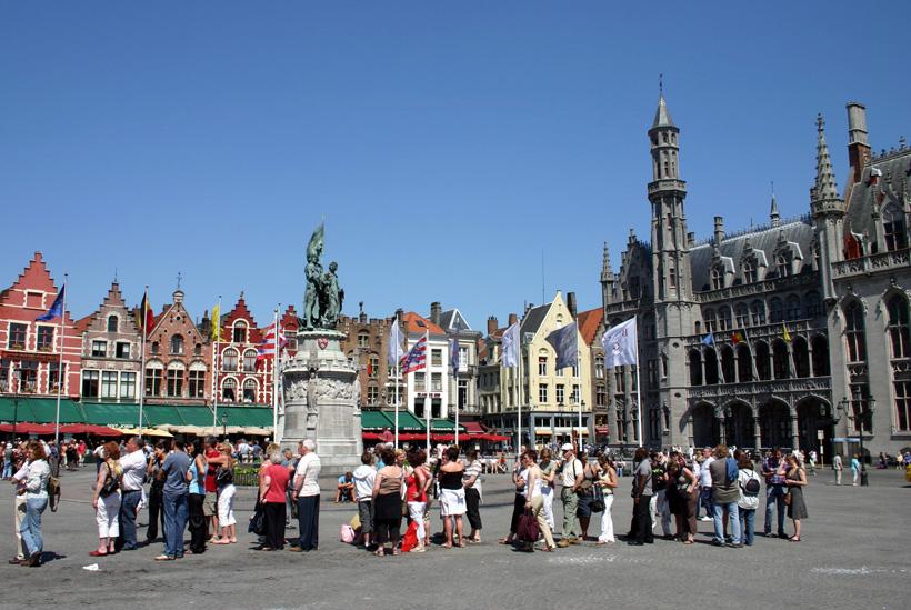 Grote Markt in Brügge