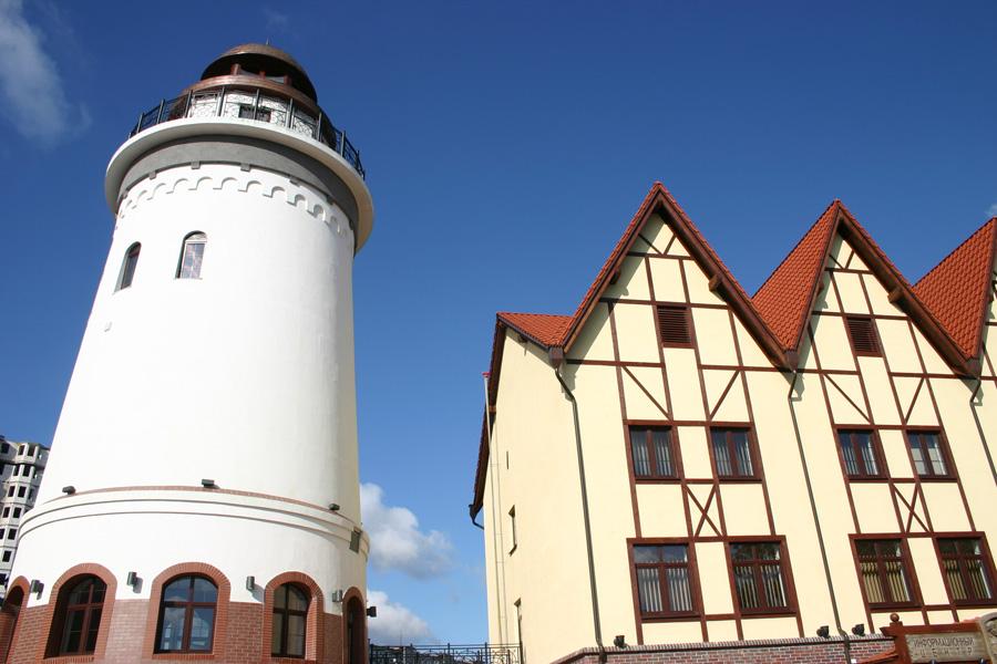 Kaliningrad Turm im Fischerdorf