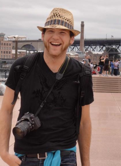 Sebastian Canaves ist das Gesicht des Reiseblogs off-the-path.