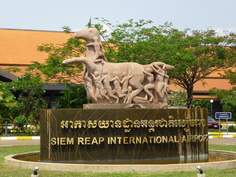 Siem Reap - Kambodscha (REP) WLAN ist kostenlos. Raucher-Area.