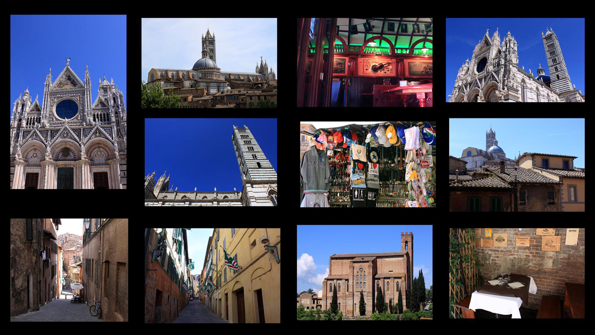 Siena Toskana Italien