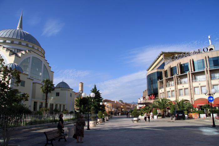 Shkodra oder Shkoder in Albanien