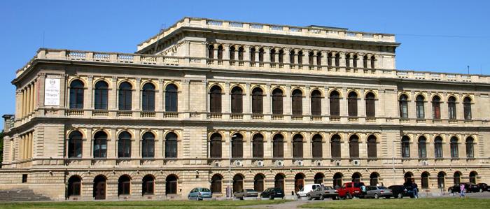 Die Alte Börse von Königsberg, von 1870–1875 erbaut.