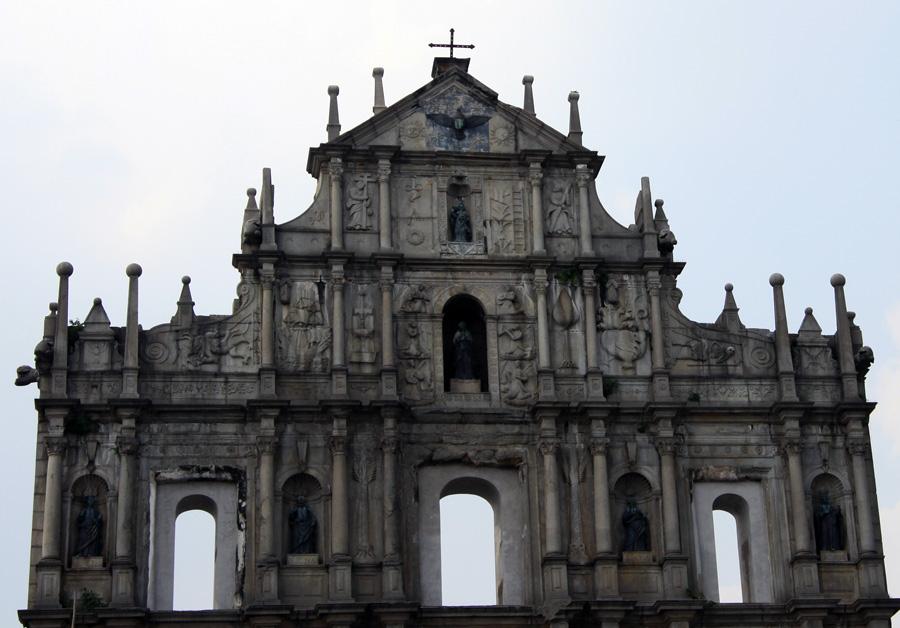 Fassade der Kathedrale Sao Paulo