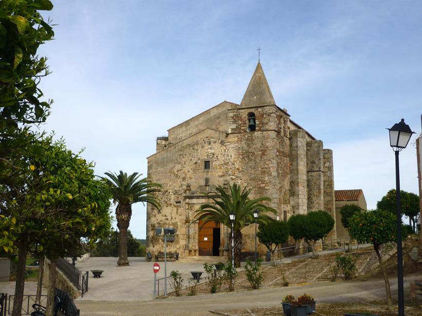 Aljucén Kirche