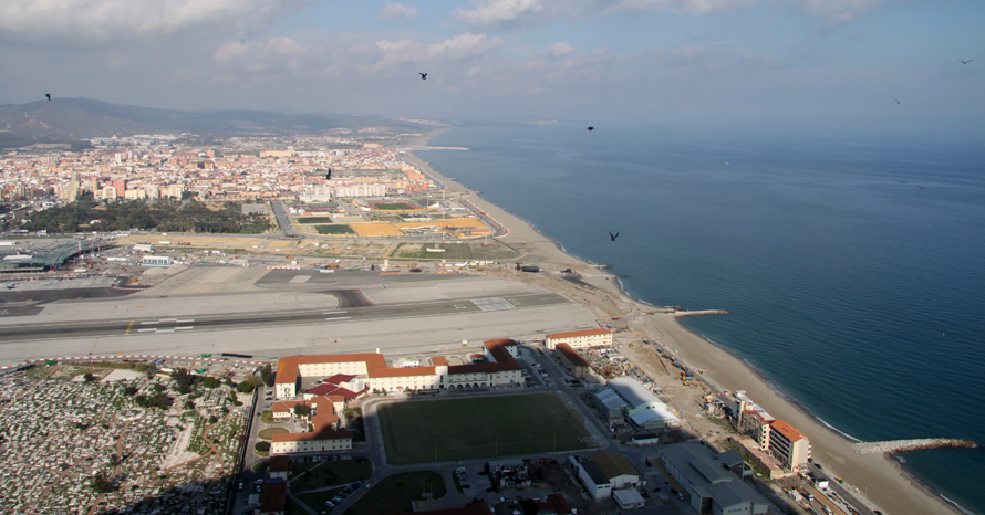 Gibraltar vom Rock