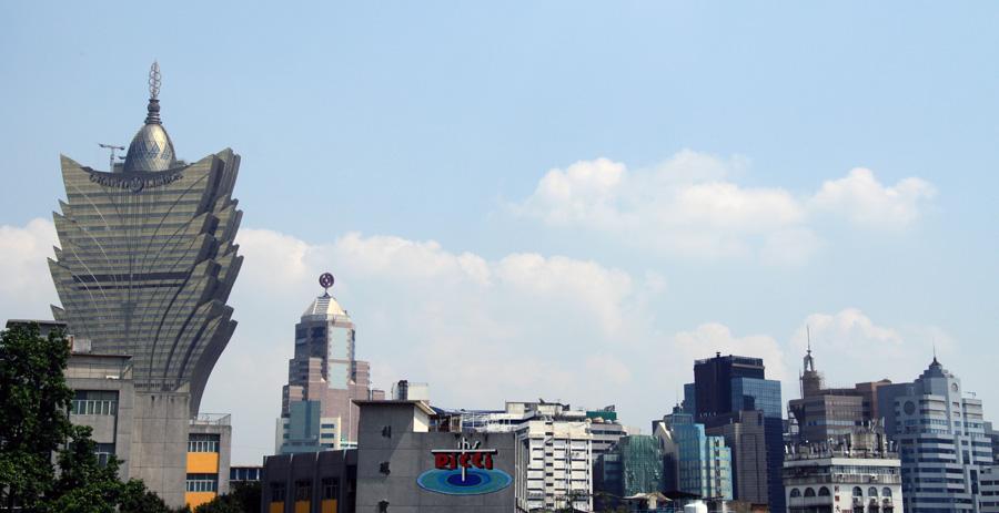 Häusermeer in Macau