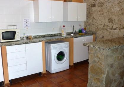 Küche in Pilgerherberge
