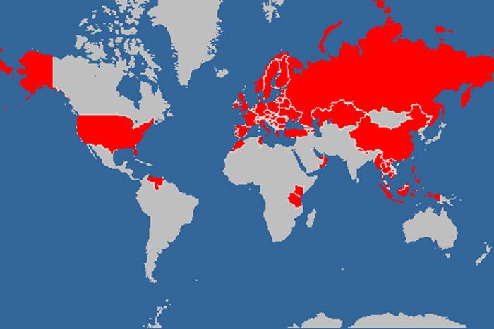 Eigene Weltkarte erstellen. (Quelle)