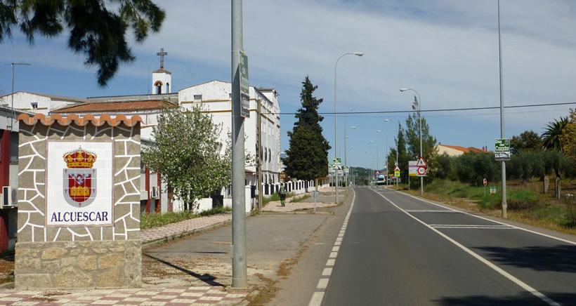 Ortseingang Alcuescar