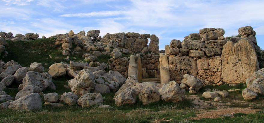Die Ġgantija-Tempelauf  Gozo gehören zu den ältesten freistehenden Gebäuden der Welt - 1980 von der UNESCO zum Weltkulturerbe erklärt.