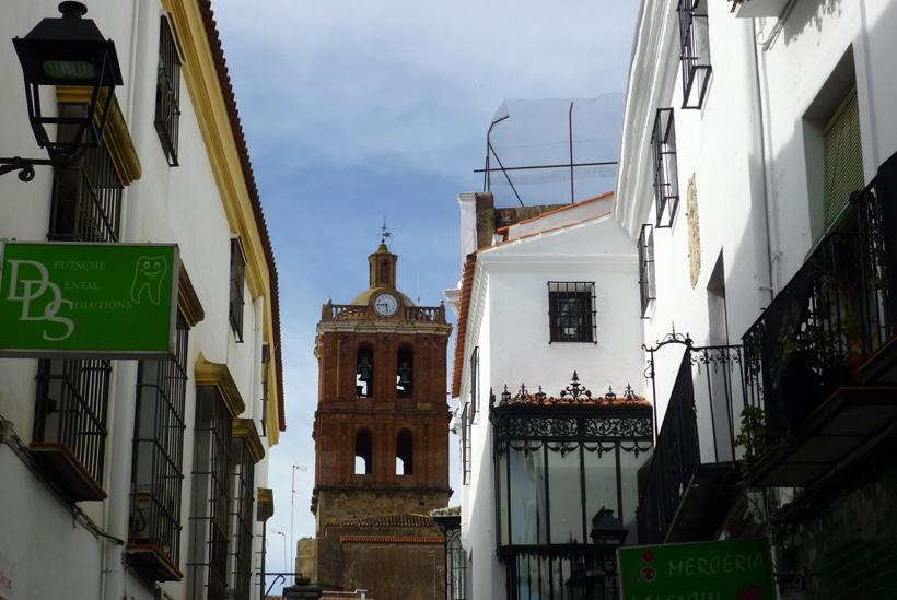 Zafra Kirche