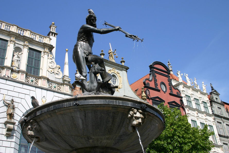 Danzig Neptunbrunnen
