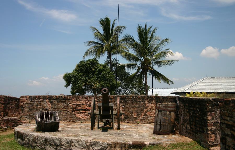 Fort Cornwallis auf Penang