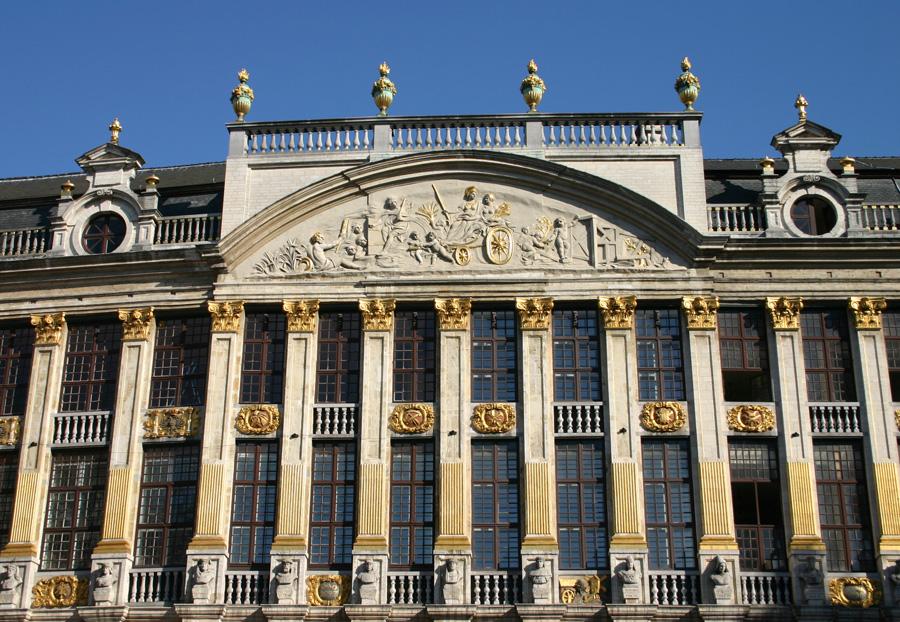 Haus der Herzöge von Brabant an der Südostseite der Grand Place.