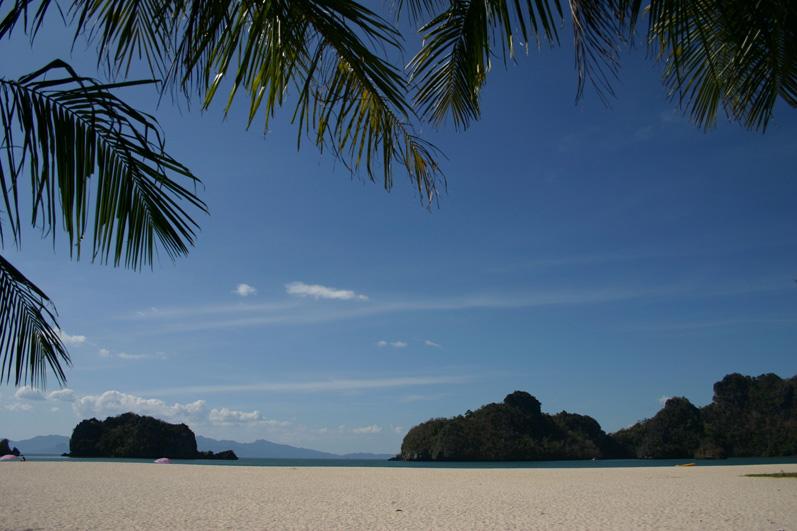 Für uns der schönste Strand auf Langkawi: Tanjung Rhu