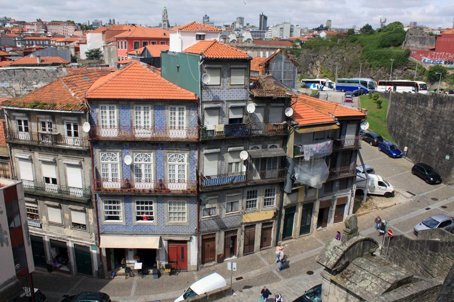 Porto Altstadt Draufblick