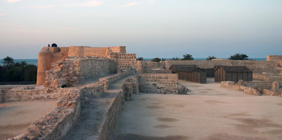 Einziger Lichtblick: Das Fort Bahrain, das seit  2005 zum UNESCO-Welterbe gehört.