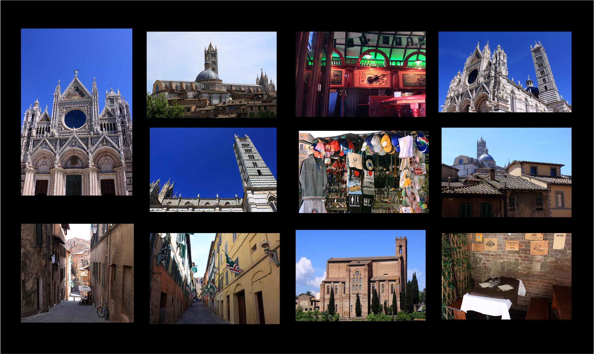 Siena - ein Juwel in der Toskana.