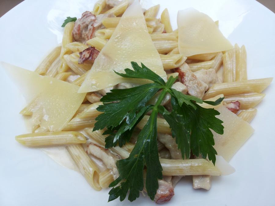 Die toskanische Küche ist stets eine  Versuchung wert. Es muss ja nicht immer Pasta sein.