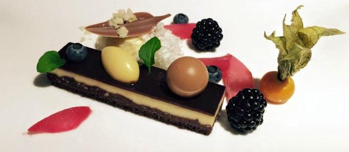 Es gibt nichts, was nicht steigerungsfähig wäre: Im August hatten wir das beste Dessert auf Johann Lafers Stromburg. Perfekt.