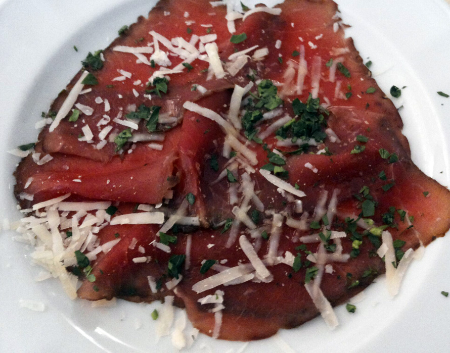 Carne Salada am Gardasee. Ein Hochgenuss!